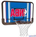 SPALDING Баскетбольный щит NBA Blue 44 80408