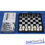 Шахматы-шашки магнитные пластиковые с доской 31 см, ШП
