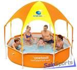 Каркасный бассейн Bestway 56432 с навесом (244х51см)