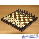 Шахматы магнитные деревянные в комплекте с доской, ШП
