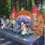 Детские электро-механические качалки Королевские скачки , ОптоСиб