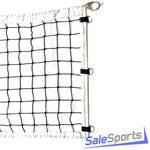 Сетка волейбольная 3,1мм со стержнями, профессиональная с тросом М519В, СЭ