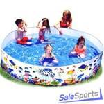 Детский жесткий бассейн Intex 58461 (183х38см)
