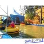 Каркасный бассейн для бамперных лодок, 8х12 м, ОптоСиб