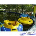 Круглый каркасный бассейн для бамперных лодок, диаметр 11м, ОптоСиб