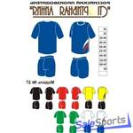 Форма волейбольная, Спортивная Линия, модель №27, мужская форма.
