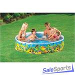 Детский жесткий бассейн Intex 58472 (244х46см)