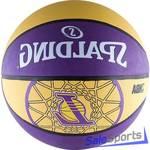 Мяч баскетбольный Spalding LA Lakers