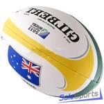 Мяч для регби Gilbert Rwc2011 Flag Australia