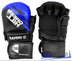 Перчатки MMA IMMAF GREEN HILL MMI-602