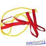 Эспандер лыжника 1.7 м, двойная резинка, Plastep