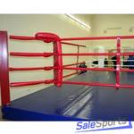 Ринг боксерский на помосте 5х5х0,5м, боевая зона 4х4м, КМ Спорт