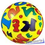 Мяч 230 мм Dema-Stil Алфавит DS-PP114-no