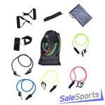 Набор эспандеров Sportsteel 1213-12 Resistance Band Kit 5 жгута