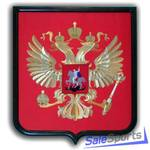 Герб России, бархат, Мегафлаг