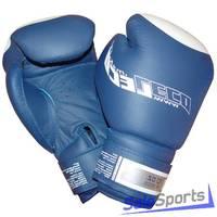Перчатки боксерские 10 унц. синие ПРО, Т8-4