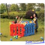 Игровые комплексы с шариковым бассейном VS-716, Vasia