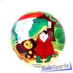 Мяч 230 мм Союзмультфильм Чебурашка и Крокодил Гена