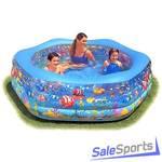 Детский надувной бассейн Intex 56493 (191x178x61см)