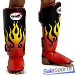 Защита голени и стопы TWINS Flame FSG-7