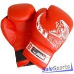 Перчатки боксерские 8 унц. для 11-13 лет ПРОФИ, Т007-02