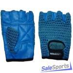 Перчатки для фитнеса и тяжелой атлетики ПРО+, разм. M, т1110-2