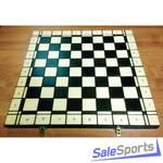 Доска шахматная деревянная складная 50 см, ШП