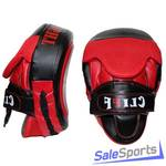 Лапа боксерская изогнутая Cliff DX Intense fight ULI-6022