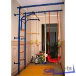 Детский спортивный комплекс Городок Г-образный с креплением к стене