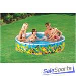 Детский жесткий бассейн Intex 58451 (38х183см)
