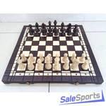Шахматы + шашки + нарды турнирные большие, ШП