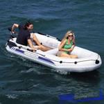 Лодка надувная Marine PRO - 1 с веслами, насосом 142х269см, Bestway 65044