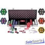 Набор для игры в покер Dynamic Billard Dybior Euro в алюминиевом кейсе