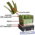 Искусственная трава для спортивных площадок и теннисных кортов MONDOTURF NSF MONOFIBRE 3NX