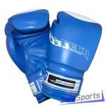 Перчатки боксерские 10 унц.синие, Премиум ПРО (натуральная кожа), Т00207
