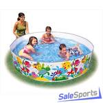 Детский бассейн жесткий Intex 56452 (38х183см)