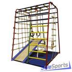 Детский спортивный комплекс Вертикаль Весёлый малыш Next с горкой и мягкими бортиками