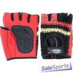 Перчатки для тяжелой атлетики GreenHill, WLG-6412