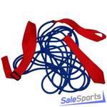 Эспандер лыжника взрослый 3.6 м, одинарная резинка, Plastep