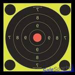 Мишень Scoot N C Self-Adhesive Targets 300 мм, 5 шт. в уп. + 120 наклеек