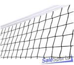 Сетка волейбольная 3,0 мм с тросом 040430, Спортстандарт