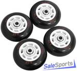 Набор светящихся ПВХ колес для роликов NOVUS NWS-17