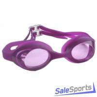 Очки для плавания ATEMI, силикон, (дет.) бел/желт L903