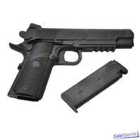 Пистолет резиновый тренировочный с магазином E 405