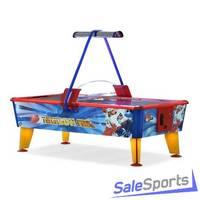 Игровой стол аэрохоккей Wik Ice & Fire Gold 6 ф