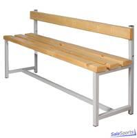 Скамейка для раздевалки односторонняя без крючков, СЭ