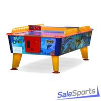 Игровой стол аэрохоккей Wik Shark 8 ф с жетоноприемником