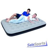 Кровать надувная Bestway 1.5 местная флок 67407
